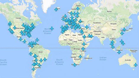 סיסמאות Wi-Fi של שדות תעופה