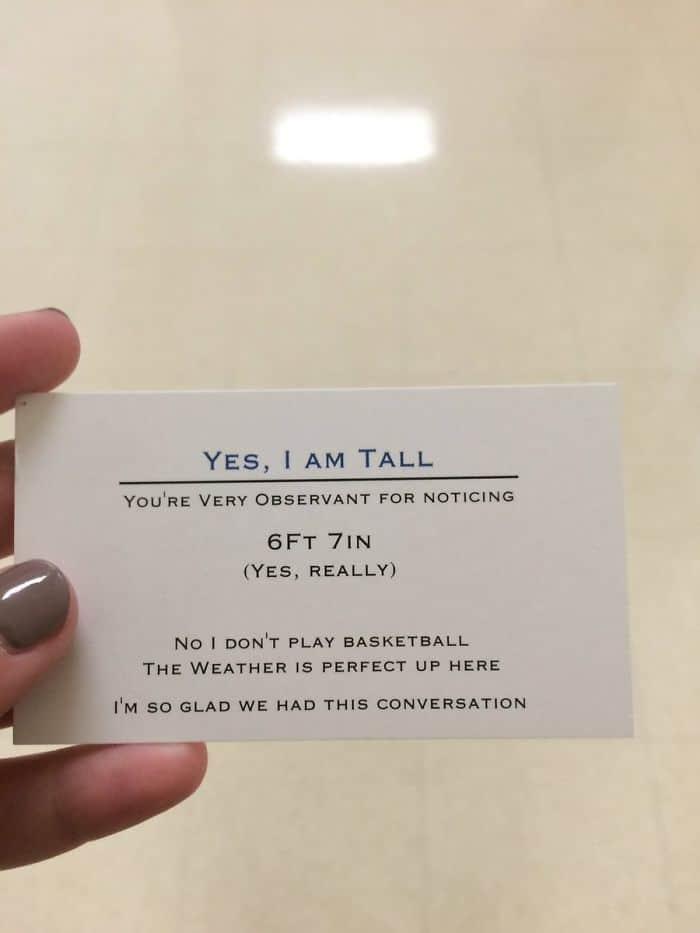 כרטיסי ביקור לגבוהים