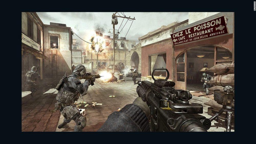 משחקים אלימים