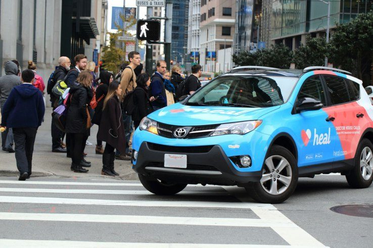 פרסומות באמצעות מכוניות