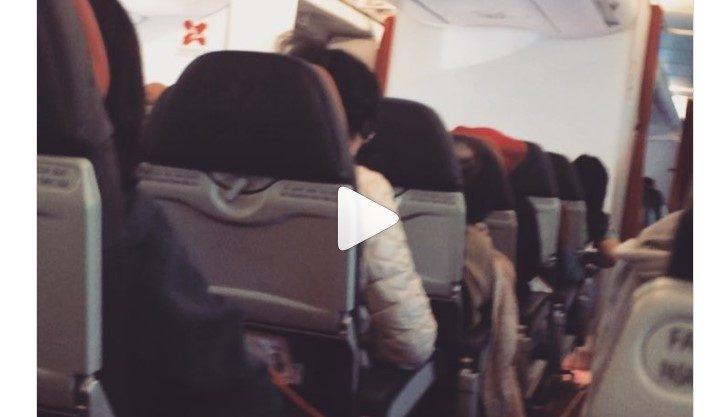 הטייס קרא לנוסעים להתפלל