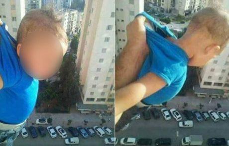 אדם נשלח לכלא לאחר שסיכן תינוק בשביל לייקים