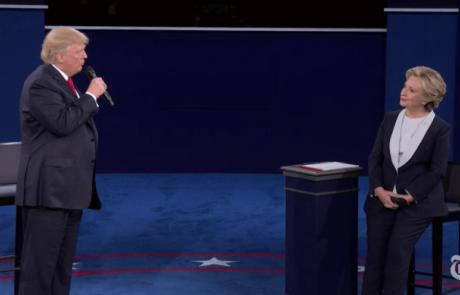זינוק במספר התלונות על פגיעה מינית בזמן שידור העימות הנשיאותי השני