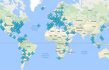 סיסמאות Wi-Fi של שדות תעופה בכל העולם במפה אחת