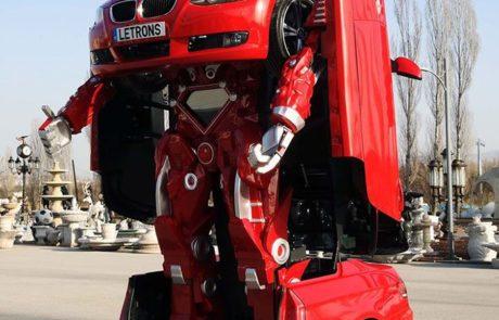 מהנדסים טורקים יצרו רובוטריק מתפקד מ-BMW שניתן לנסיעה