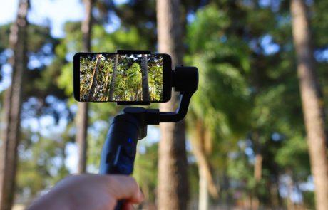 להשתמש בנייד כמצלמה מקצועית – גימבל לסמארטפון