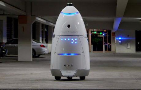 רובוט אבטחה הטביע עצמו בבריכה מלאכותית במרכז קניות