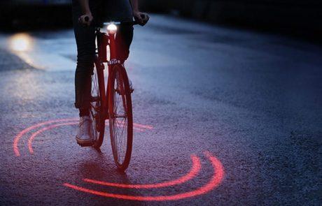 מישלן פיתחה מערכת הגנה לרוכבי אופניים באמצעות טבעת של אור אדום
