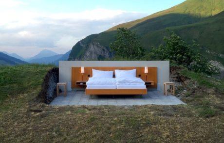 מלון ללא קירות פתח סניף חדש במיקום מרהיב וכך זה נראה